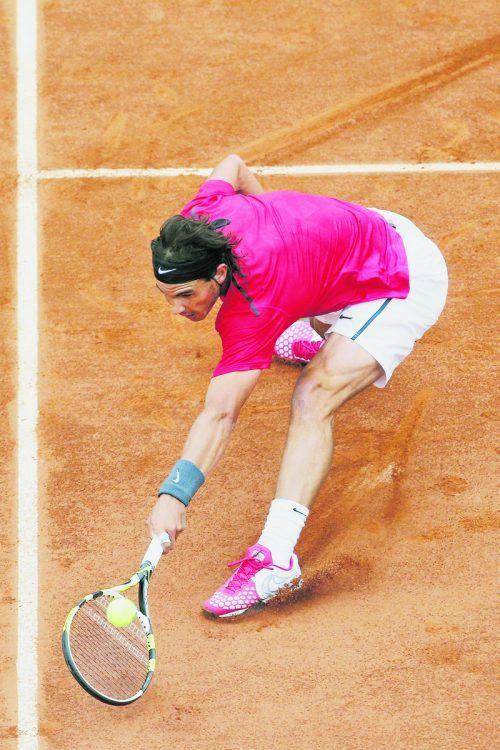 Rafael Nadal macht seinen Paris-Start von der Coronasituation abhängig.ap