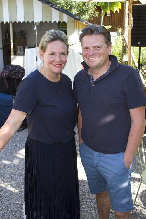 Rafaela und Alexander Berger freuten sich über den rasant ausverkauften Abend.