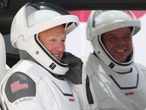 Robert Behnken und Douglas Hurley. afp