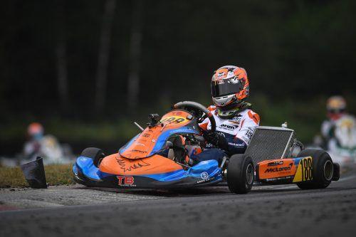 Schon am kommenden Wochenende will Kiano Blum in Deutschland wieder Gas geben.Blum-Racing