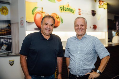 SCRA-Präsident Peter Pfanner (l.) und Vize Werner Gunz.
