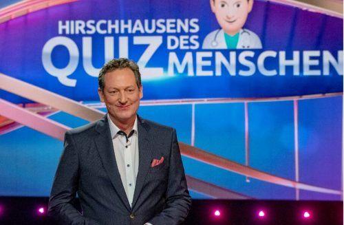 """Seit 2010 moderiert Eckart von Hirschhausen die Wissenschaftsshows """"Frag doch mal die Maus"""" und """"Hirschhausens Quiz des Menschen"""". WDR"""