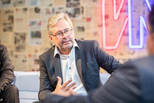 Seit dem Jahr 2007 ist Wrabetz, geboren 1960 in Wien, Generaldirektor des ORF. Von 1998 bis 2006 war er kaufmännischer Direktor. VN/Sams