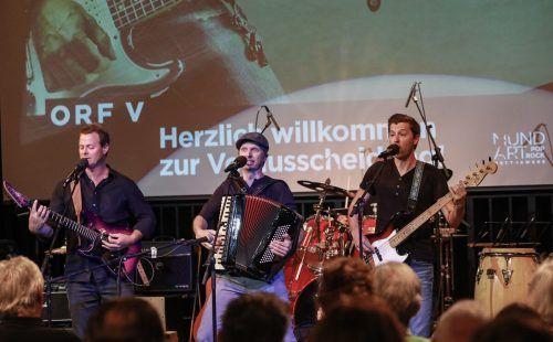 """""""Söf"""" werden am Samstag, 26. September, das Kellertheater Lampenfieber mit ihrem Mundartrock beschallen.Lippautz"""