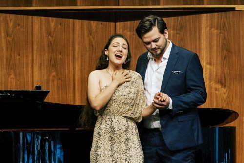 Sopranistin Anna El-Khashem und Bariton Johannes Kammler. BF/Anja Köhler