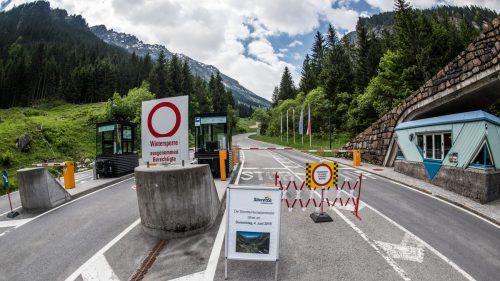 Sperre der Silvretta Hochalpenstraße war kein Hindernis. symbol/lerch