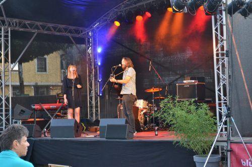 Stereo Ida waren am Eröffnungsabend als Duett zu erleben.