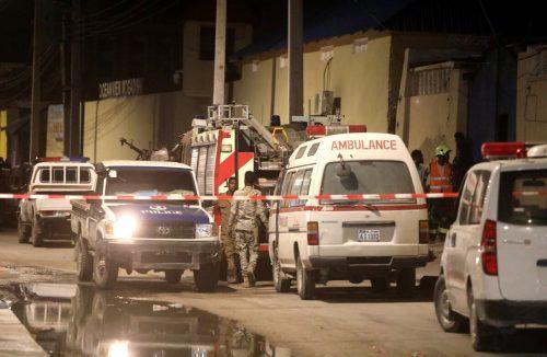 Terroralarm in Mogadischu. Islamisten töteten mehrere Menschen. AFP