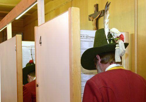 Tirolerisch hören die Österreicher besonders gern. APA