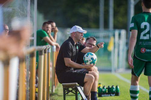 Trainer Ingo Hagspiel ist mit Lauterach weiter auf Erfolgskurs.STEURER