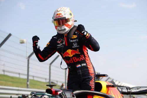 Triumph von Max Verstappen im Red Bull in Silverstone, der Niederländer beendete im fünften Saisonrennen die Mercedes-Siegesserie.AP, APA, gepa