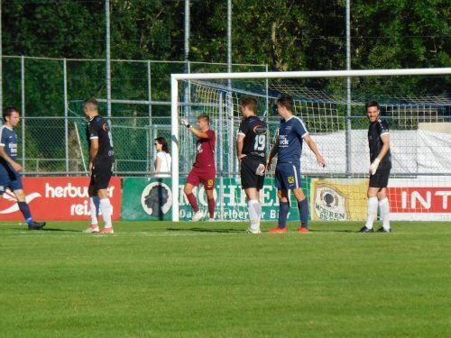 Trotz guten Spiels vor allem in der ersten Halbzeit unterlag die 1b-Mannschaft der Admira durch ein spätes Tor der Hittisauer. mima
