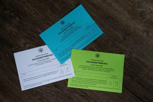 Über drei Fragen kann in Liechtenstein abgestimmt werden. Volksblatt