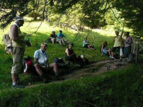 Über Stock und Stein ging es bei der anspruchsvollen Bergtour mit den Pensionisten aus Nüziders.Pensionistenverband