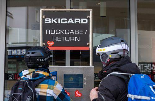 Viele Skilifte und Hotels wurden im März behördlich geschlossen. APA