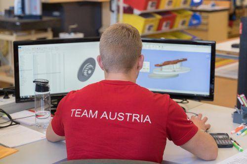 Vorarlberger Teilnehmer sind eine fixe Stütze des Teams Austria.VN/Stiplovsek