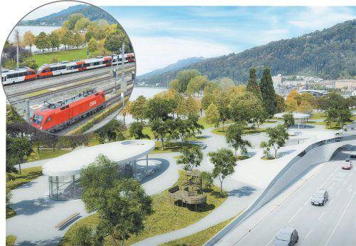 Vorliegende Machbarkeitsstudie der Initative mehramsee sorgt weiter für Debatten in Bregenz.mehramsee