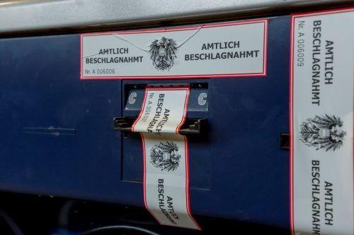 Wieder wurden Automaten behördlich beschlagnahmt. symbol/VN/Paulitsch