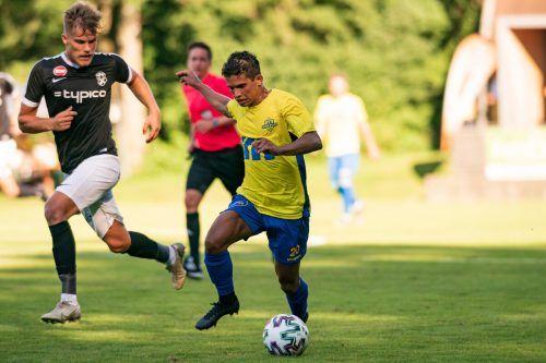 Idiano Lima Rosa dos Santos ist noch nicht ganz fit, dennoch könnte er ein wichtiger Aspekt im Spiel der Wolfurter werden.STIPLOVSEK