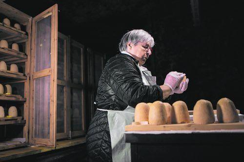 Zincarlin: ein typischer Käse aus der Region Mendrisiotto.Schweiz Tourismus/Luca Crivelli
