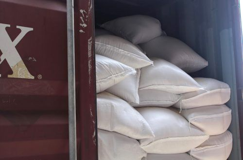 1,3 Tonnen Kokain wurden im August in Reissäcken gefunden.AFP