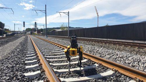 Ab sofort unterstützen zwei Roboter der Firma Boston Dynamics die Mitarbeiter von Rhomberg Sersa Rail auf ihren Baustellen. Rhomberg Sersa Rail