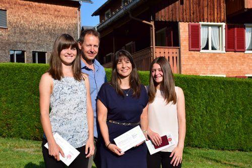 Alexandra Martin (49) konnte sich gemeinsam mit ihrem Mann Harald (47) sowie ihren Töchter Lea (19) und Sophia (17) über ein gutes Ergebnis freuen.