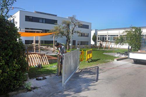 Am 14. September beginnt der Betrieb im neuen Kindergarten am Dorfbach. AJK