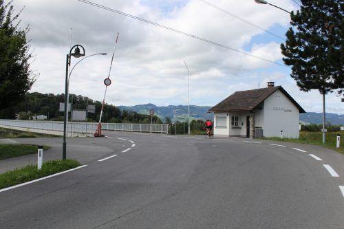 Am Schnittpunkt des Rheindammwegs zeigt ZollART Kunst im öffentlichen Raum.VN