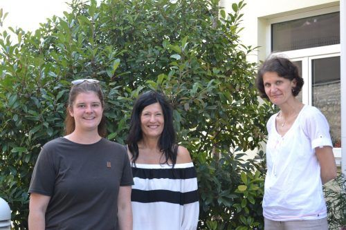 Amtstierärztin Martina Reitmayr, Brigitte Vonier (Verein Tierärzte Grenzenlos) und Karin Keckeis, Tierschutzombudsfrau Vorarlberg.bi