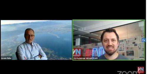 Armin Fidler beantwortete am digitalen VN-Stammtisch die Fragen der VN-Leser und Zuseher.VN