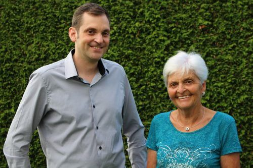 Aus Bürgermeisters Töchterlein wurde Antonia Kresser, geb. Giselbrecht, 65 Jahre später jetzt Bürgermeisters Mama.