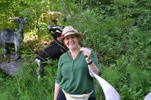 Barbara Bilz ist der Ansicht, dass eine Portion Humor alles leichter macht. BI