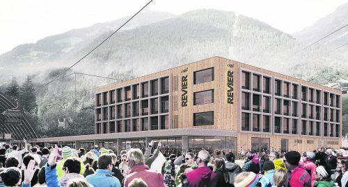 Baustart für die Revier Mountain Lodge Montafon ist bereits im November.Revier (2), Simo