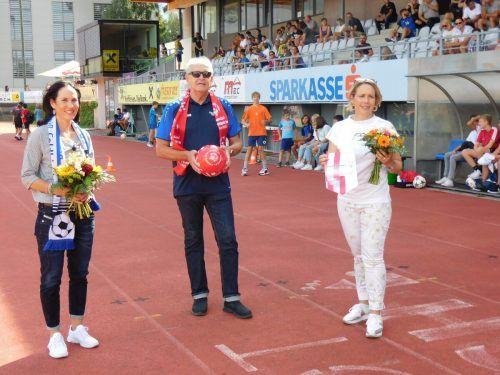 Beatrice Amann (GF Special Olympics), BW-Präsident Bernhard Neuberger und Vizebürgermeisterin Gudrun Petz-Bechter freuen sich über die Zusammenarbeit.