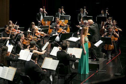 Bei den Festtagen der Bregenzer Festspiele ging für das Symphonieorchester Vorarlberg noch alles gut, nun mussten die Konzerte abgesagt werden. BF/Mathis