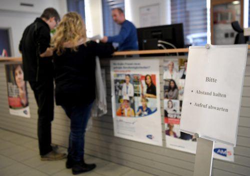 Beim AMS registriert man einen Anstieg der Arbeitslosenzahlen. Apa