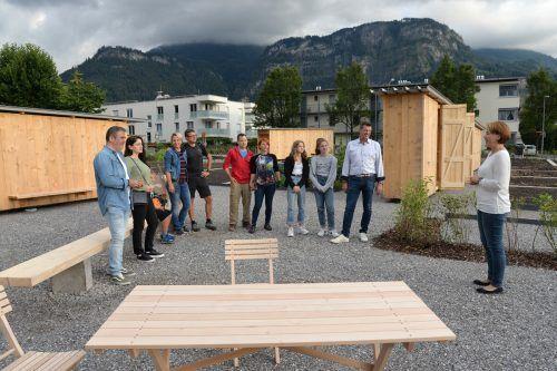 Der Gemeinschaftsgarten wurde bereits eingeweiht. Stadt