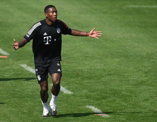 Die Beziehung David Alaba und FC Bayern München scheint ein Ablaufdatum zu haben, schon am 1. Jänner kann der Österreicher den Verein verlassen.afp