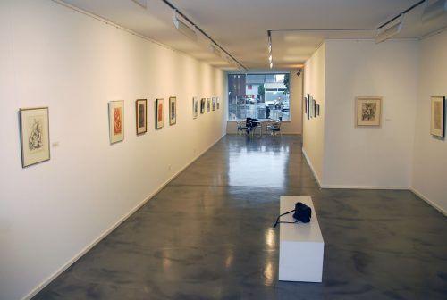 Blick in die Wacker-Ausstellung im Rohnerhaus.Pfarrmaier/2