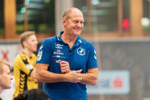 Bregenz-Coach Markus Burger freut sich auf die neue Saison.gepa