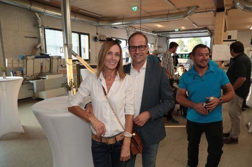 Bürgermeister Dieter Egger mit Gertraud.