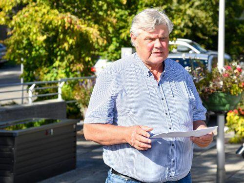 Bürgermeister Mandi Katzenmayer verlas das Wahlergebnis.