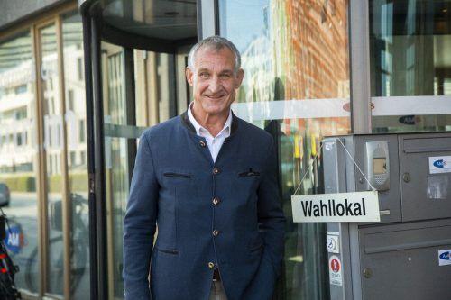 Bürgermeister Markus Linhart.