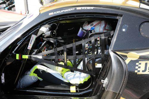 Christian Klien steuerte den Mercedes AMG zwei Mal ins Spitzenfeld.noger