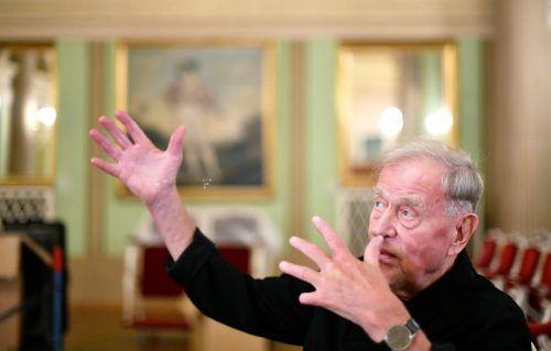 Claus Peymann inszeniert am Wiener Theater in der Josefstadt. aPA