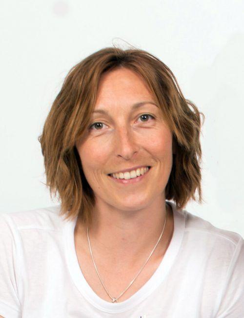 Coach für die Tennisstars von Morgen: Yvonne Meusburger-Garamszegi.