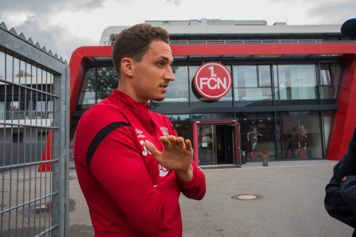 Das Gesicht des Clubs: Georg Margreitter spielt seit 2015 für Nürnberg.Steurer