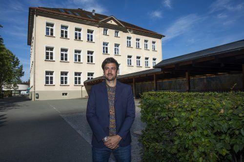 Das ist der neue Direktor der Volksschule Hohenems-Markt.PAULITSCH