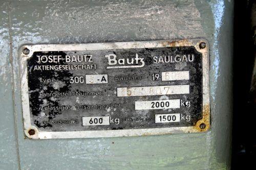 Das letzte Projekt von Friedrich und Othmar Hubmayer war die Restaurierung eines Bautz-Traktors aus dem Jahre 1960. BP
